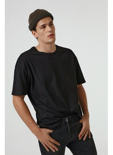 D'S Damat Oversize T-Shirt Siyah